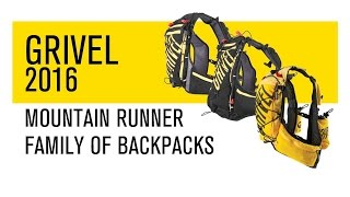 Grivel 2016 - Mountain Runner Family of backpacks