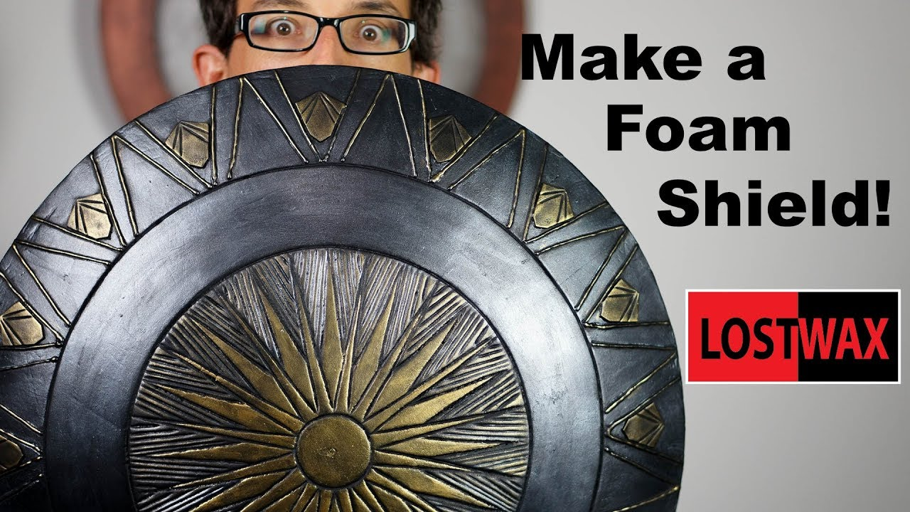How To Make A Domed Foam Shield Diy Wonder Woman Captain