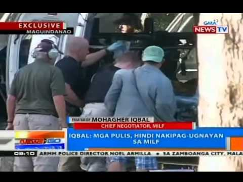 NTG: Panayam kay Mohagher Iqbal, chief negotiator, MILF