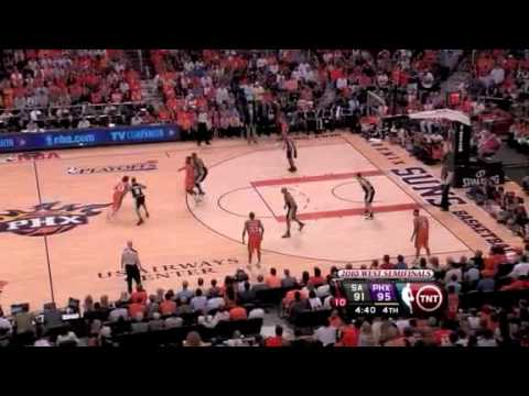 SA Spurs vs. Phoenix Suns - Game 2 Recap [NBA Playoffs 2010]