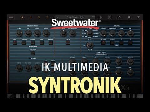 IK Multimedia Syntronik Synthesizer Plug-in Demo