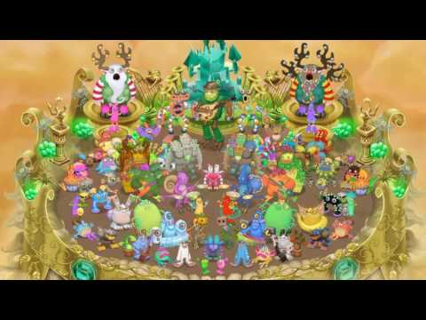 My Singing Monsters  Gold Island Full Song 216