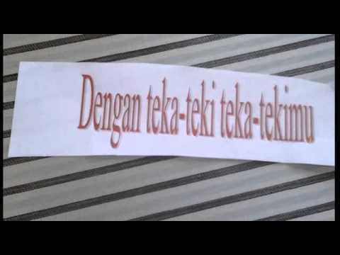 Teka - Teki ( Raisa ) Lyric Music Video