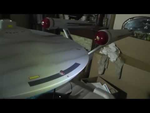 Star Trek TOS U.S.S. Enterprise 2nd Pilot version 1/350 Scale