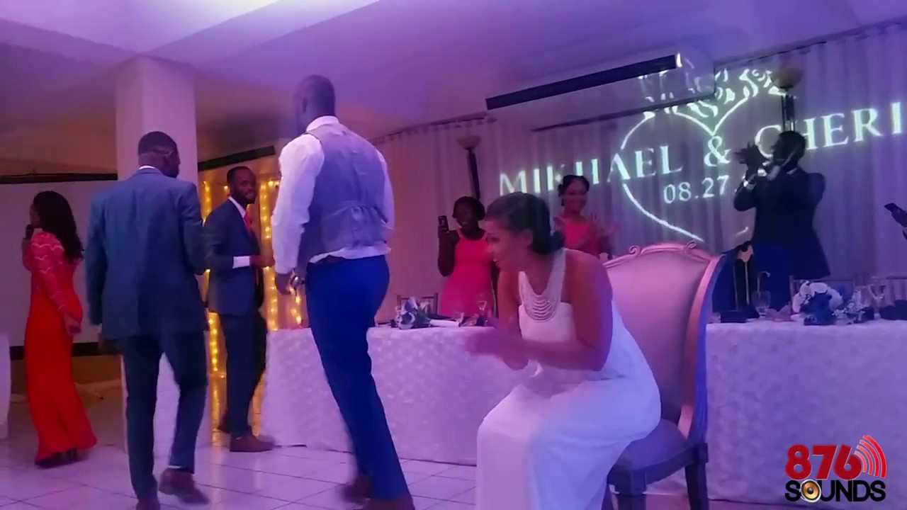 Mikhael Cheri Jamaican Wedding Reception 2017 Eden Gardens