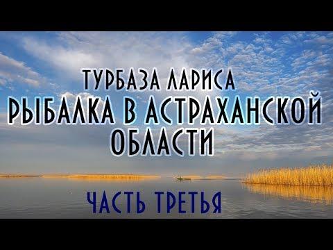 Рыбалка в Астрахани #3. База Лариса