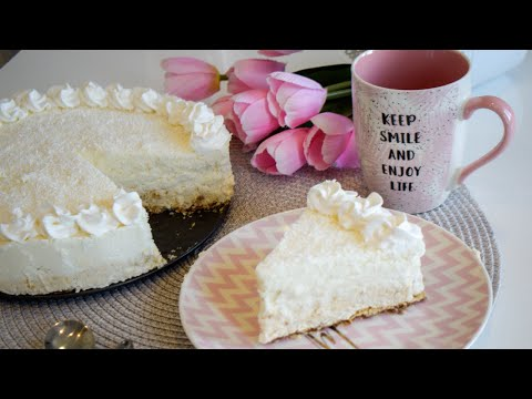 Raffaello cake no bake - Eng sub from YouTube · Duration:  6 minutes 44 seconds