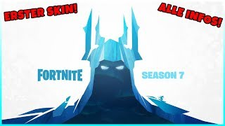 Season 7 teaser: Ice spreads.... First Skin has been released! - Fortnite Battle Royale