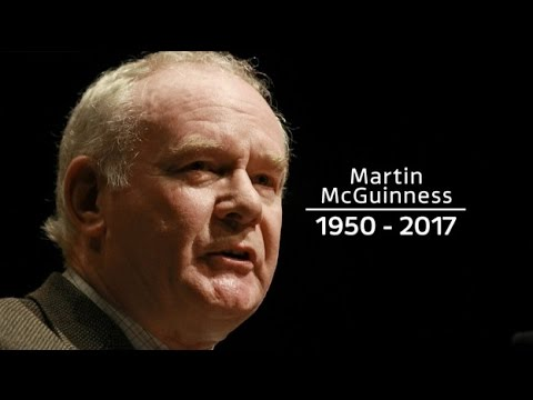 Tributes paid to ex-IRA leader and Sinn Fein politician McGuinness