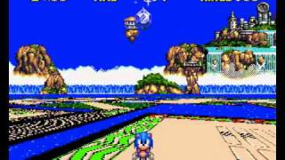 Sonic CD (Special Stages) Gameplays.