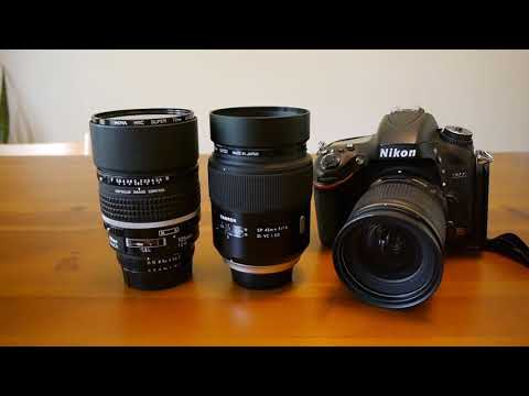 Travel Lens Recommendations for Nikon