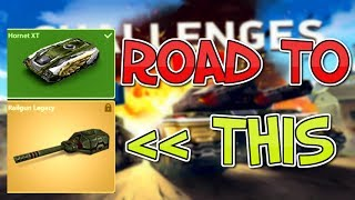 Tanki Online / Live Challenges Road to 2000 Stars