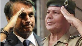 Bolsonaro anuncia, oficialmente, General Mourão como VICE na sua chapa