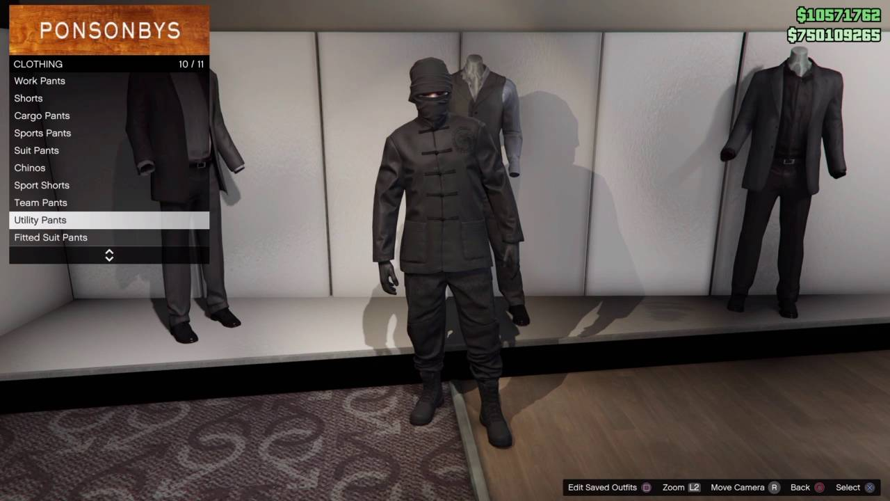 Gta 5 Online Ninja Outfit!!!! - YouTube