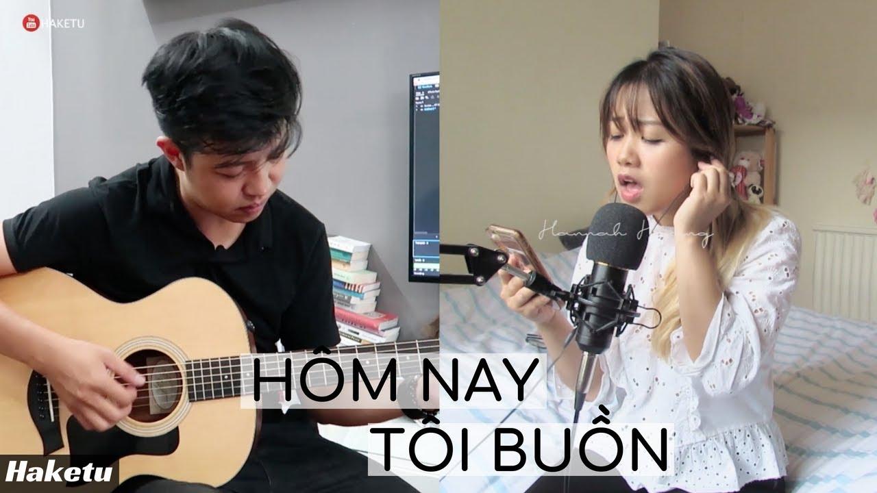 Hôm nay tôi buồn (Phùng Khánh Linh) Guitar Cover | Hannah Hoang ft. Haketu