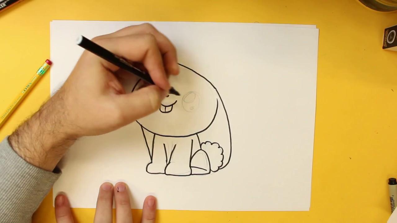 Comment dessiner lapin kawaii tape par tape dessins kawaii facile youtube - Dessin de lapin ...
