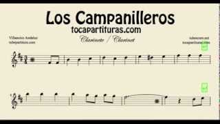 Los Campanilleros Sheet Music for Clarinet