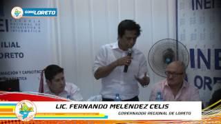 FIRMA CONVENIO INEI E INAUGURACION DE ESCUELA 06 JUN 2015