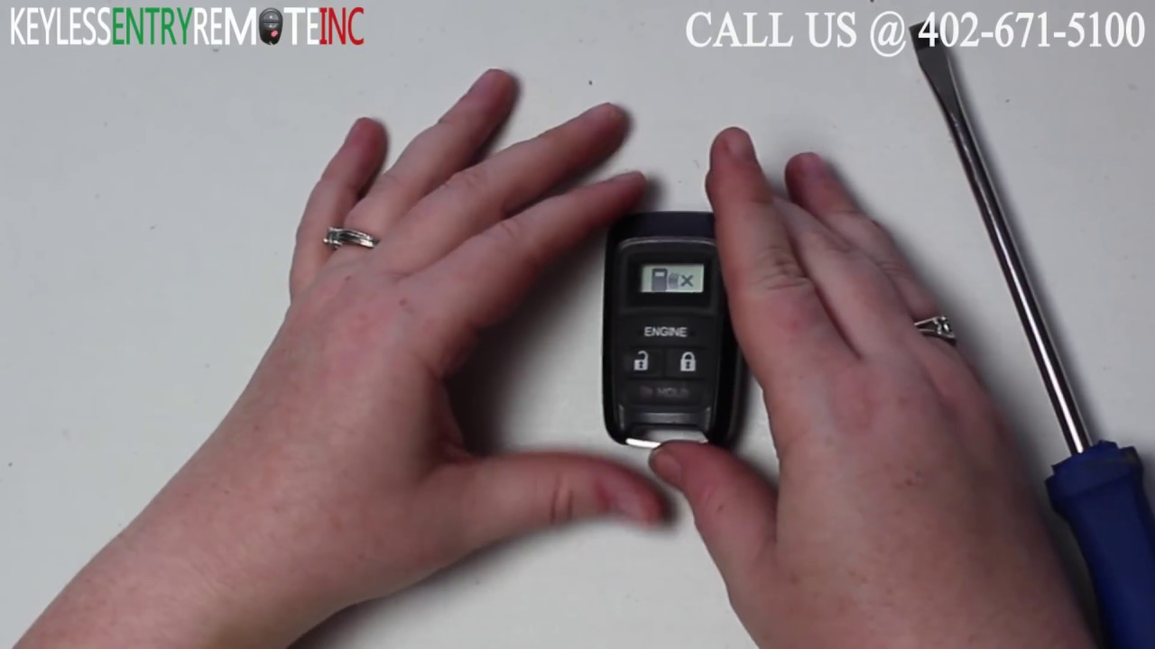 How To Replace Honda Cr V Key Fob Battery 2013 2014 2015 Youtube