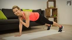 Fitness Total Body Workout für Fortgeschrittene mit Hannah