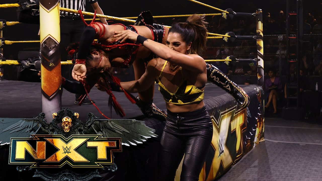 Xia Li Possibly Injured During NXT Women's Title Match