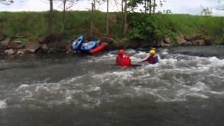 Abenteuer Wildwasser im Harz - der RiverTube