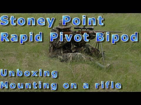 Stoney Point Rapid Pivot Bipod - unboxing & mounting