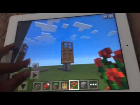 Amazing Minecraftpe How To Make A Floating Door