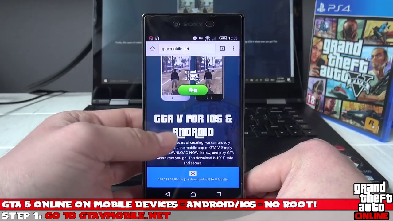 download grand theft auto 5 on ios