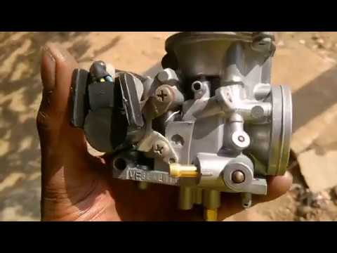 How to clean the hero Honda carburettor ? Cold start part 2