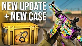 NEW CSGO UPDATE (Snakebite Case Opening)