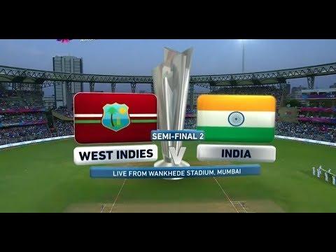 ICC T20 Semi-Final 2   India vs West Indies     Full Match   2016