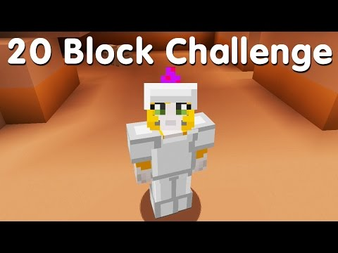 Minecraft PS4 - 20 Block Challenge - i've ruined it! (15)