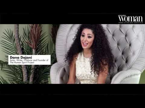 Emirates Woman, Woman Of The Year Awards 2016, Artists Nominee — Dana Dajani