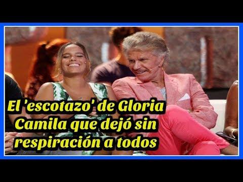 El 'escotazo' de Gloria Camila que dejó sin respiración a todos thumbnail