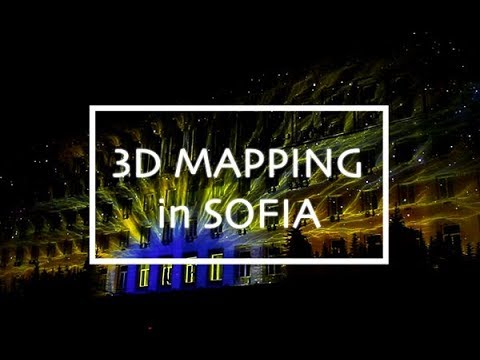 3D Mapping Show in Sofia | Europe Day 2018