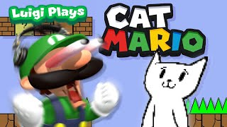 Luigi Plays: CAT MARIOOO