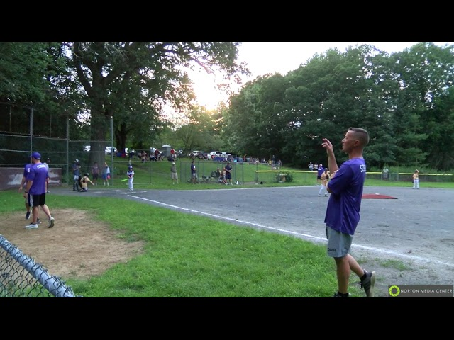Foxboro vs. Norton ~ 8U Friendship Baseball 07/22/2021