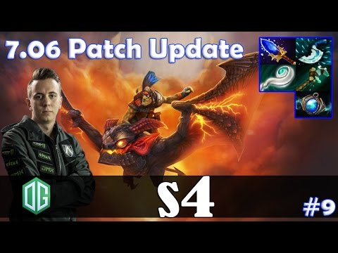 s4 - Batrider Offlane | 7.06 Patch Update | Dota 2 Pro MMR  Gameplay #9