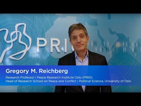 Peace Research Institute Oslo | Head of Research Professor Gregory M. Reichberg (English subtitles)