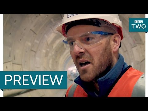 Laying 50 kilometres of track - The Fifteen Billion Pound Railway: Episode 1 Preview - BBC Two