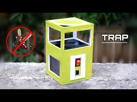 DIY Mosquito Trap - How To Make