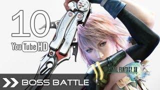 Final Fantasy XIII Walkthrough Gameplay - FF13 Part 10 (Garuda Interceptor - Boss Fight) HD 1080p