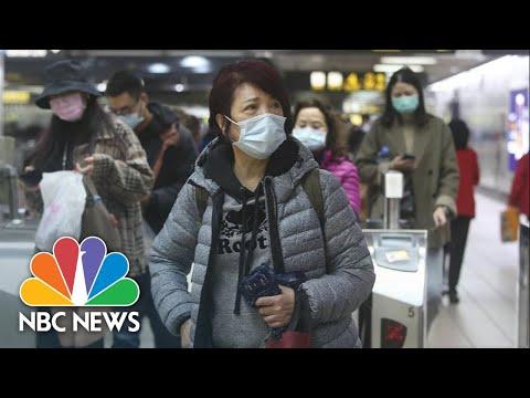 CDC, Health Secretary Azar Update On Coronavirus   NBC News (Live Stream Recording)
