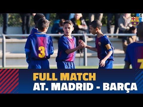 Iscar Cup 2018 (Semifinal): Atlético de Madrid - FC Barcelona Benjamín A
