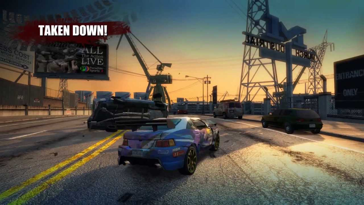 burnout paradise the ultimate box youtube. Black Bedroom Furniture Sets. Home Design Ideas