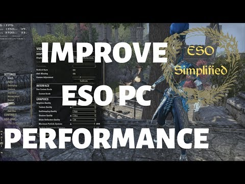 ESO Simplified: Improve ESO PC Performance (2019)