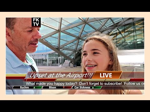 LIVE 🎥  FROM THE AIRPORT |  A WESTERN 🚐  RV ADVENTURE | Flippin' Katie