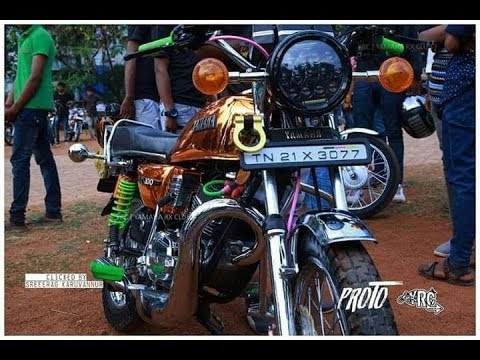 FULL CUSTOMIZED MODIFY YAMAHA RX100 IN INDIA 2017