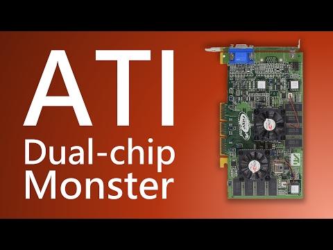 ATI Rage Fury MAXX Dual Chip Monster Cross Fire Ancestor